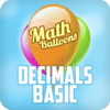 Math Balloons Decimals Basic